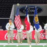Dallas Rattlers Lacrosse Color Guard Detail