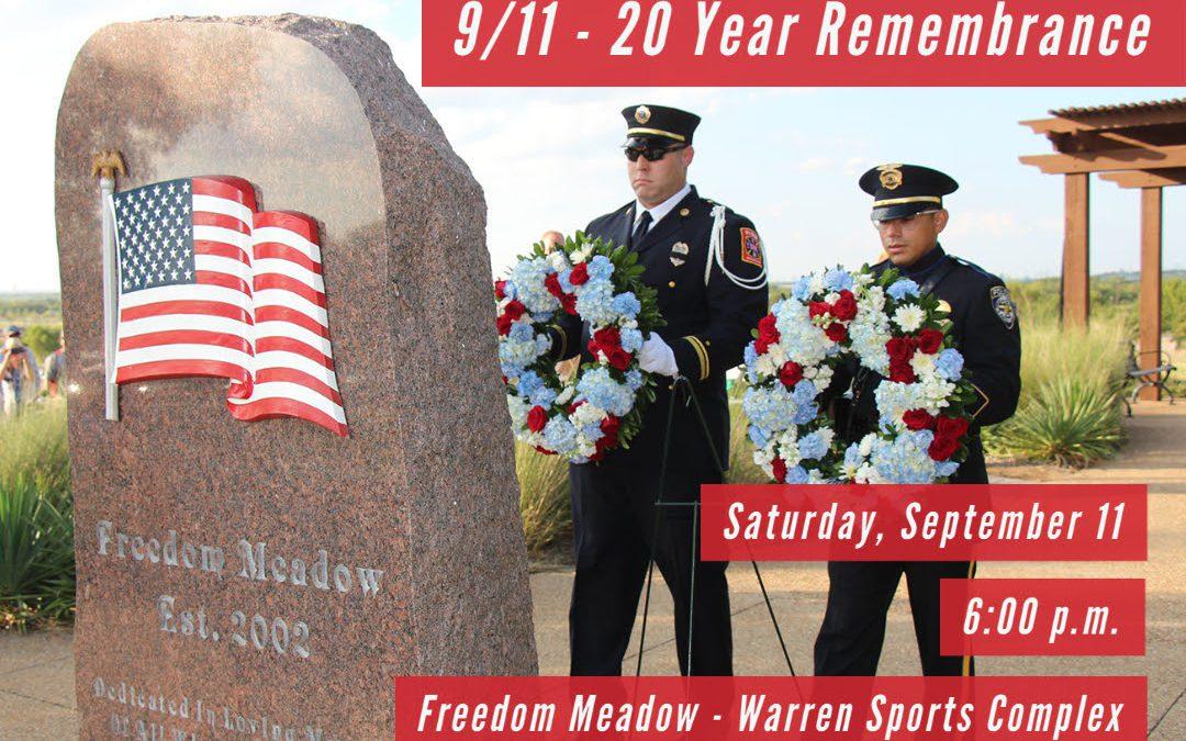 20th Year Remembrance of 9/11 Terrorist Attacks